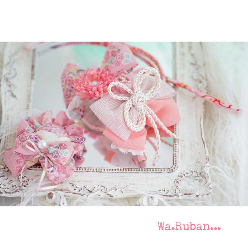 Wa. Ruban カスタム ピンクNo.1