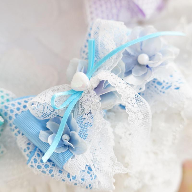 Dreaming  butterfly choker blue