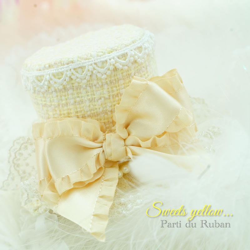 Sweets  collection yellow