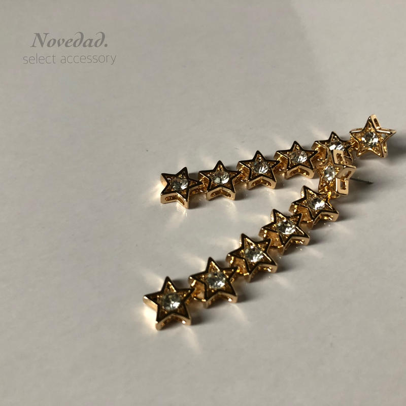 gold STAR line pierce