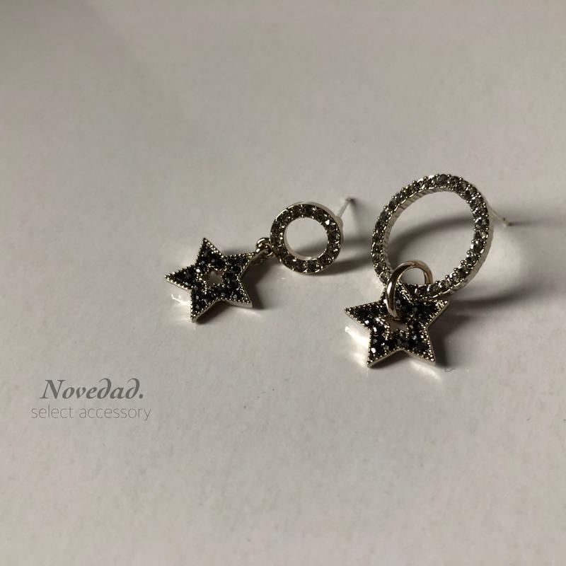 black STAR asymmetry pierce