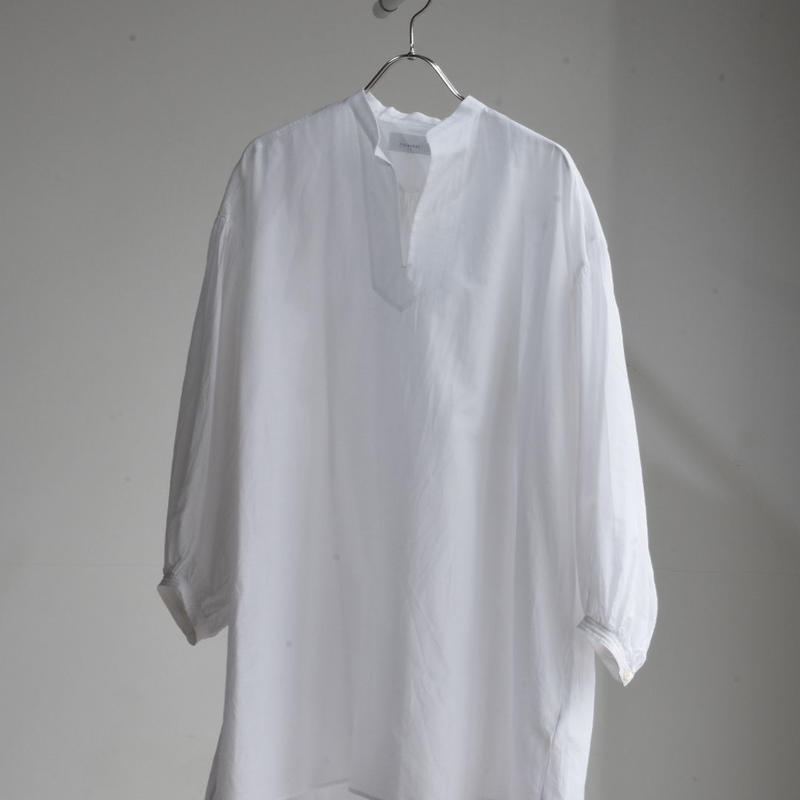 phlannel  cotton silk smock shirt