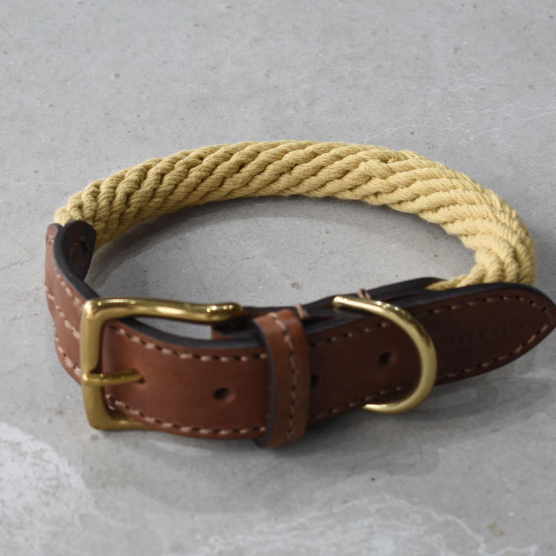mungo&maud   Rope collar   natural