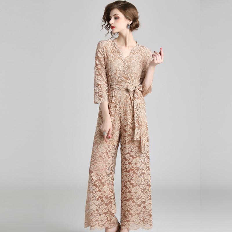 袖あり パーティードレス パンツ 結婚式 二次会 パンツドレス 結婚式ドレス お呼ばれドレス 20代 30代 40代 オールインワン