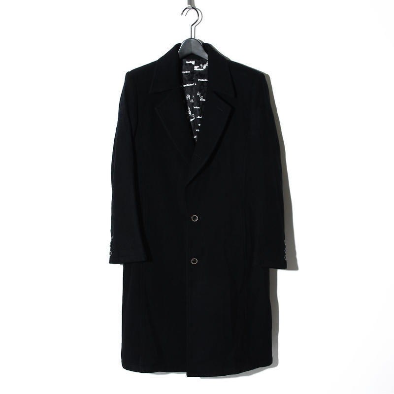 Cashmere Beaver Wool Long Coat / BLACK  2902312