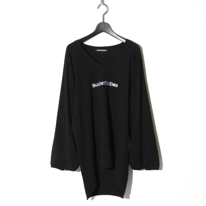 Embroidery Black Honey T / BLACK 2902104