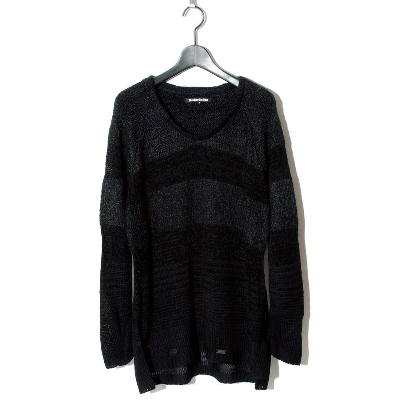 Border Knit / BLACK 2902501