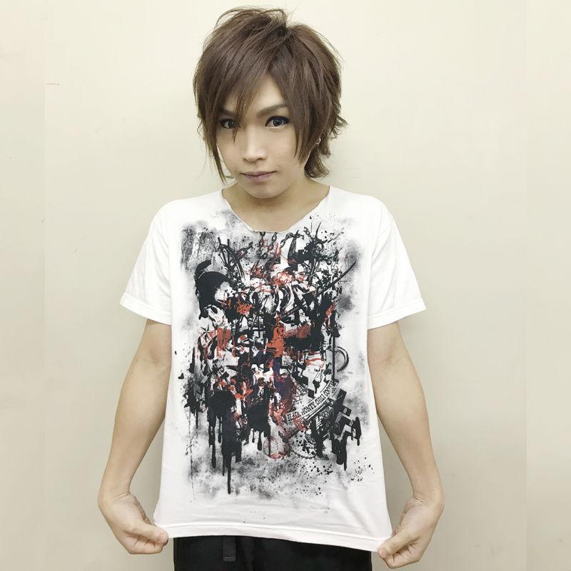ゴールデンボンバー 鬼龍院翔 × BLACK HONEY CHILI COOKIE コラボTシャツ