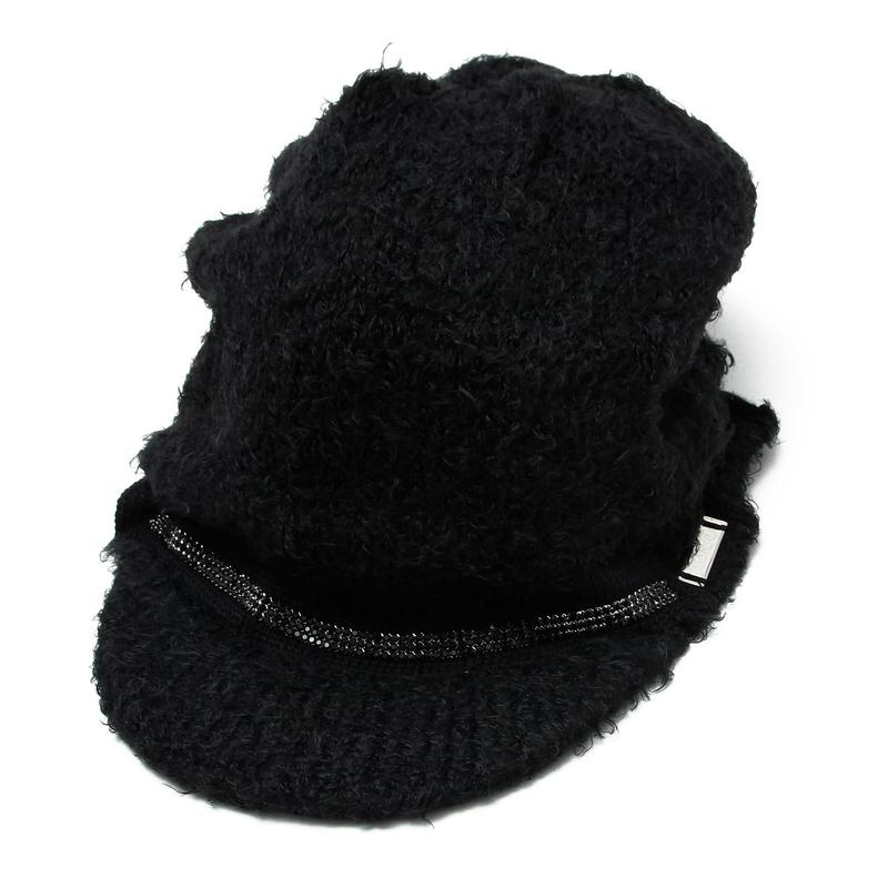 Triple Swaro Knit Casquette / BLACK 2902504