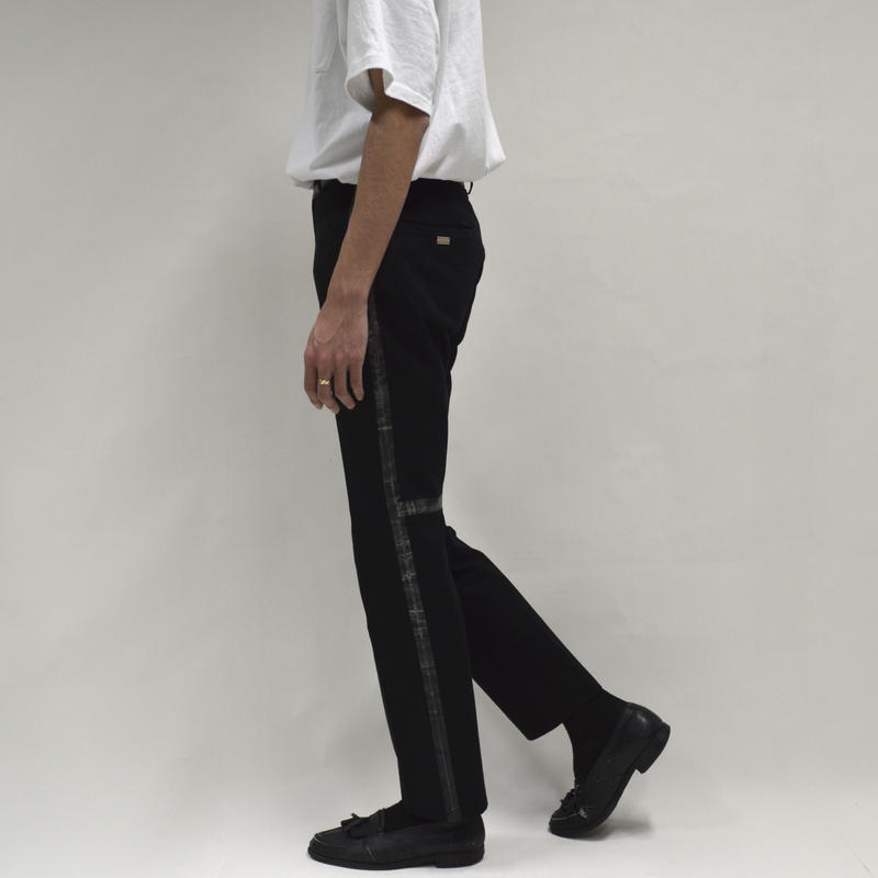 Taped Line Straight Pants [P-0012]