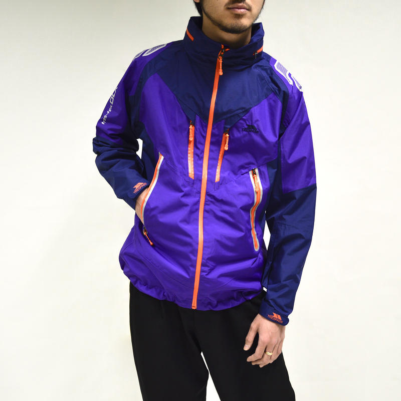 nylon sailing zip-blouson[O-0019]