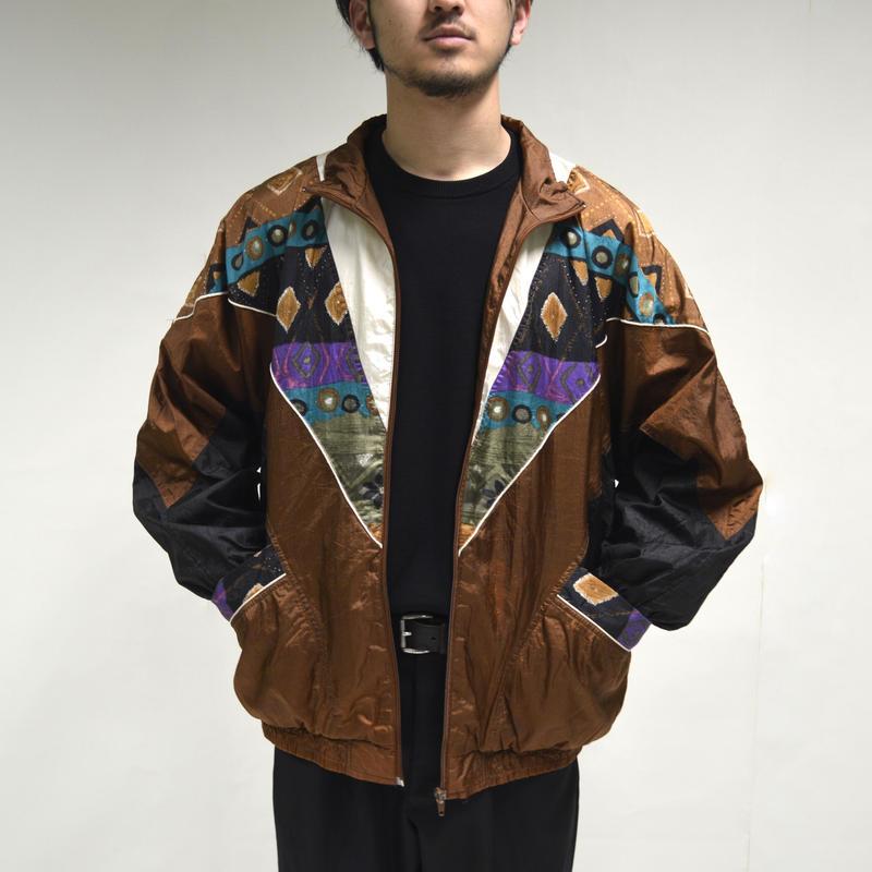 80's Nylon Jacket  [O-0004]
