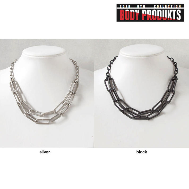 INDUSTRIAL chain short necklace