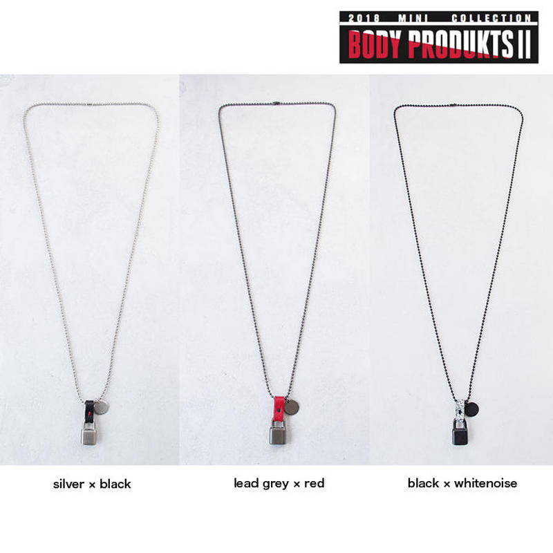 LONG CHAIN padlock necklace