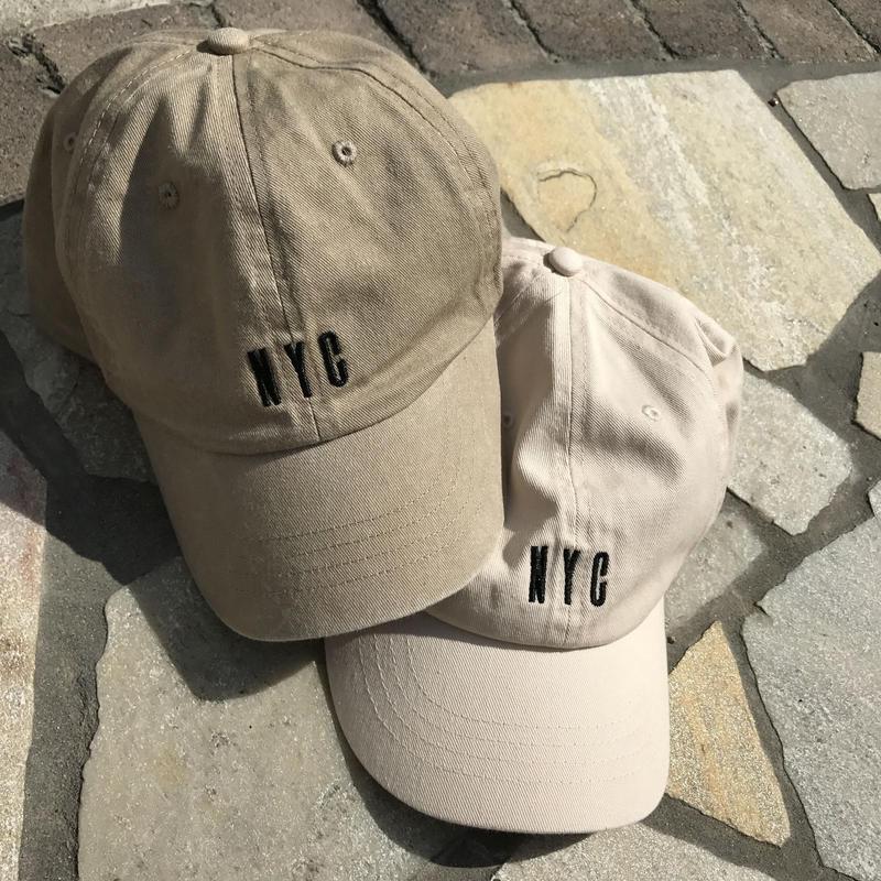 ウォッシュ加工CAP