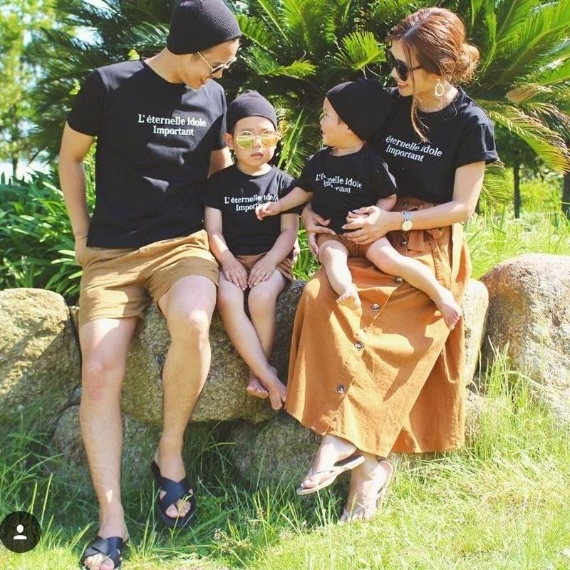 Original・familyロゴTシャツ2 メンズ・レディース