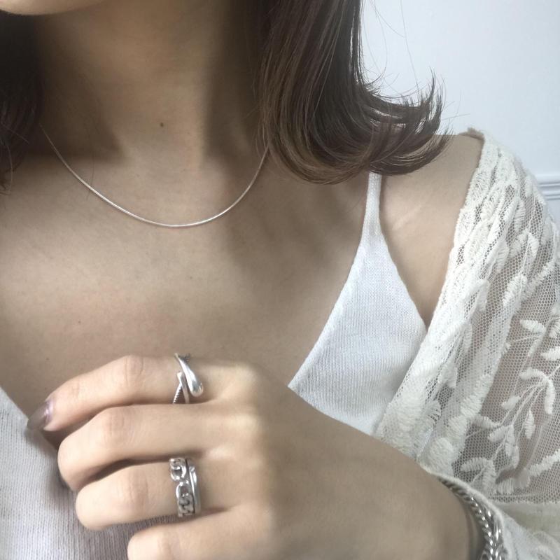 silver925・shortnecklace