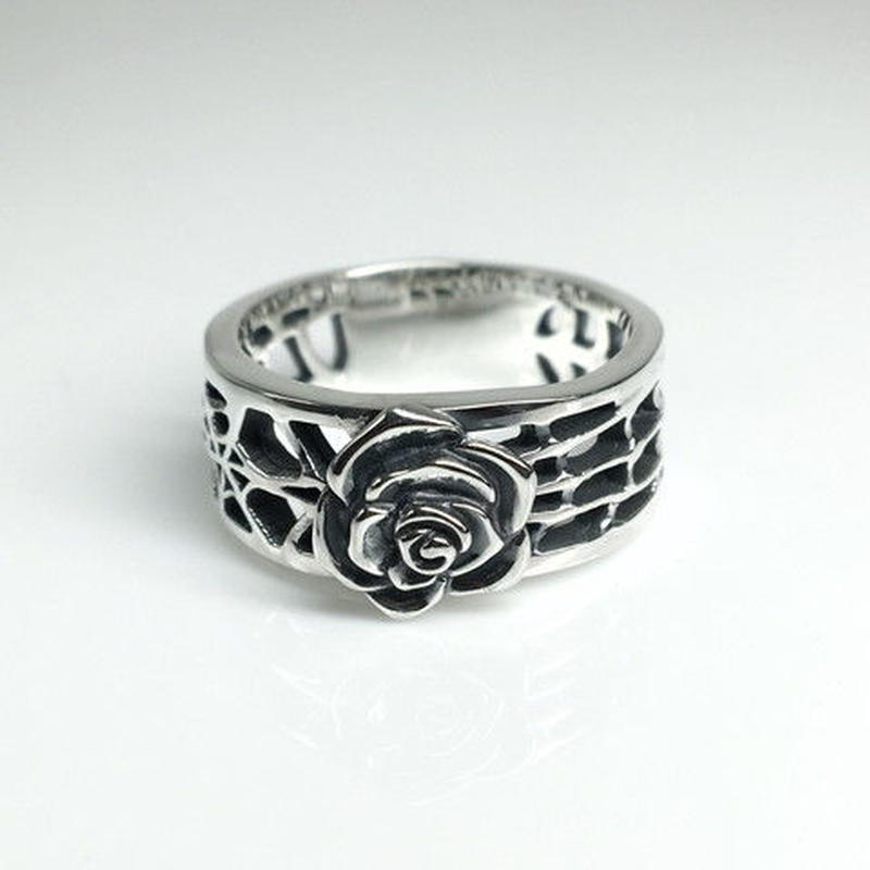 SPIDER WEB RING M SILVER / スパイダー ウェブリング  M SILVER