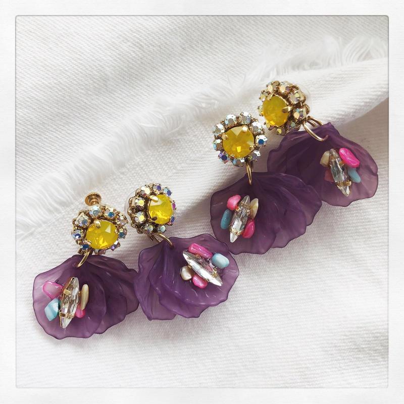 Yellow × Purple Petal