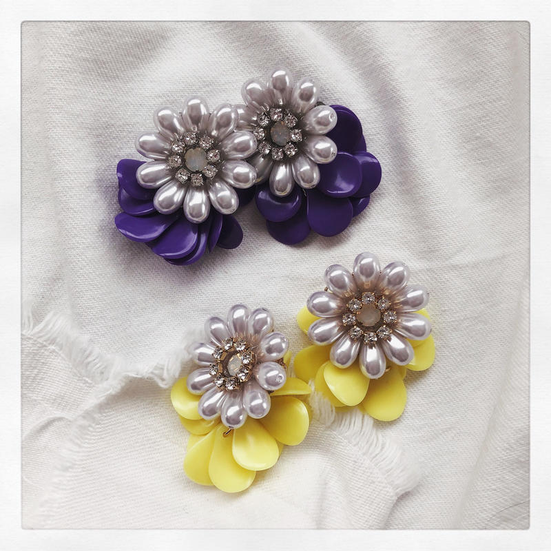 【Earring】Colorful Margaret