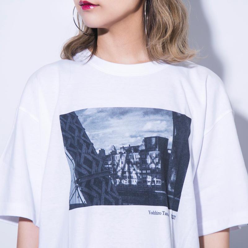 【ラス1】YOSHIHIRO TATSUKI × BLIXZY T-SHIRT  WHITE