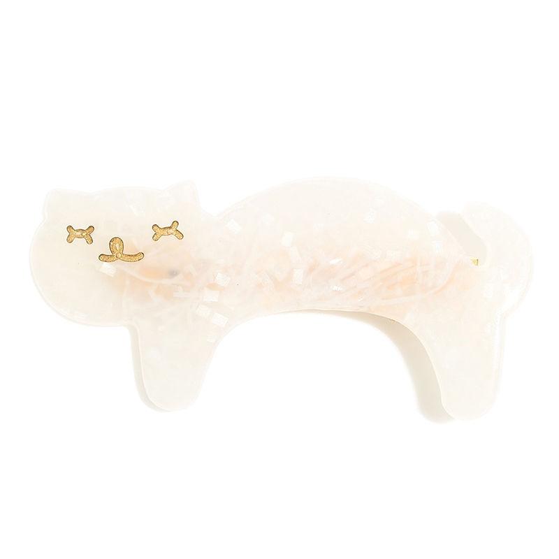 小)猫ちゃんクリップ【ホワイト】