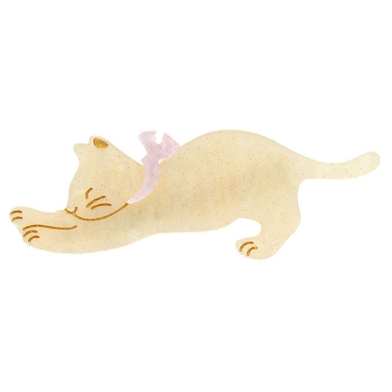 猫ちゃんクリップ【ホワイト】