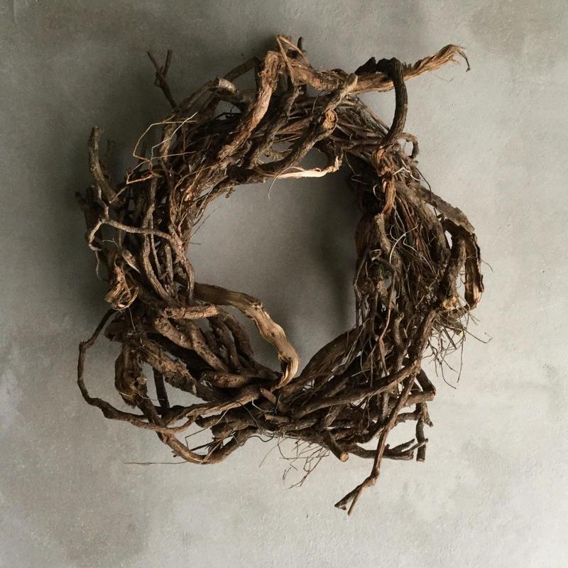 Spinoza Roots Wreath(スピノザルーツ リース)