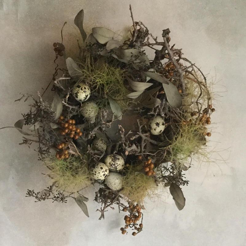 Birds Nest Wreath (バーズネストリース)