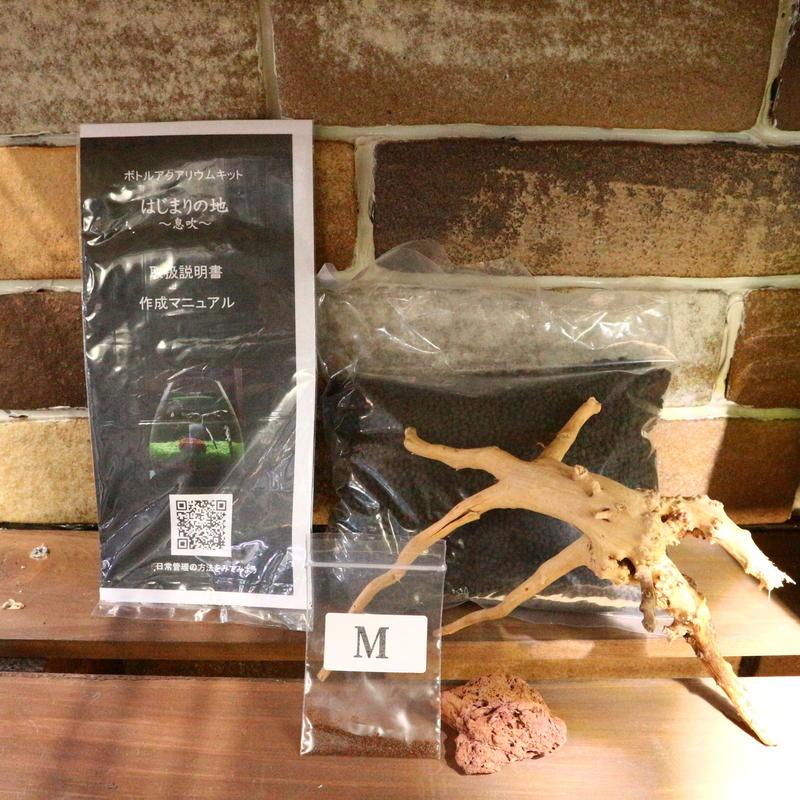 【種から育てる水草】グラスアクアリウム用作成キットM(グラスなし)