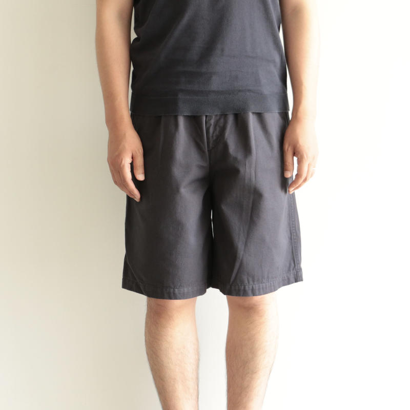 Charpentier de Vaisseau/Tuck Short Pants(men's/navy)