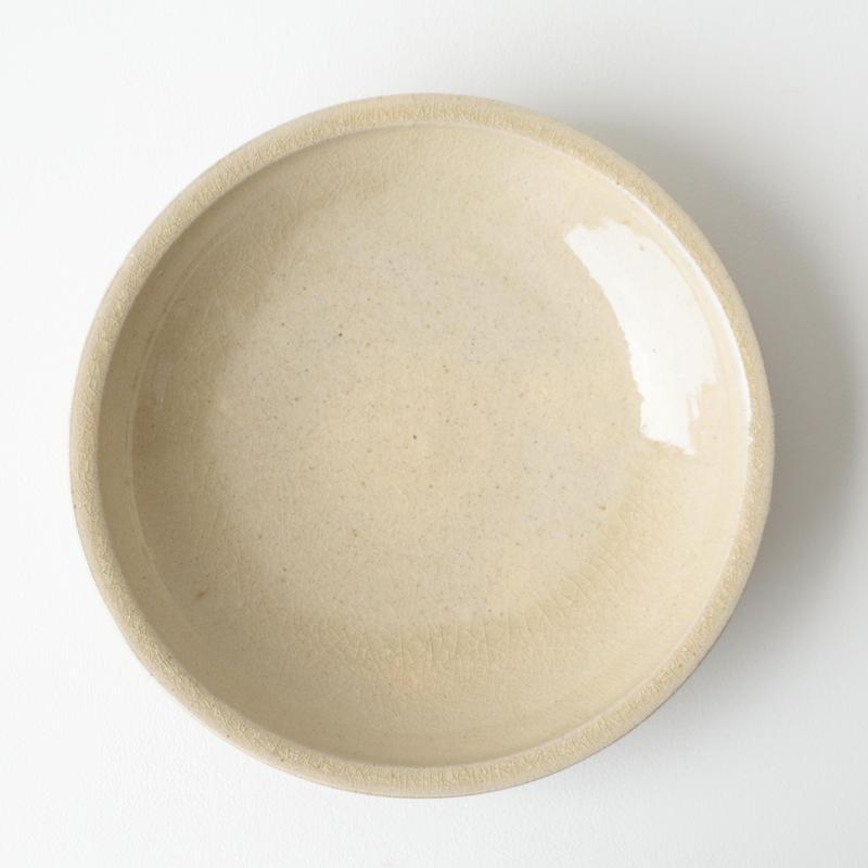 田谷直子/石皿8寸(きなり)