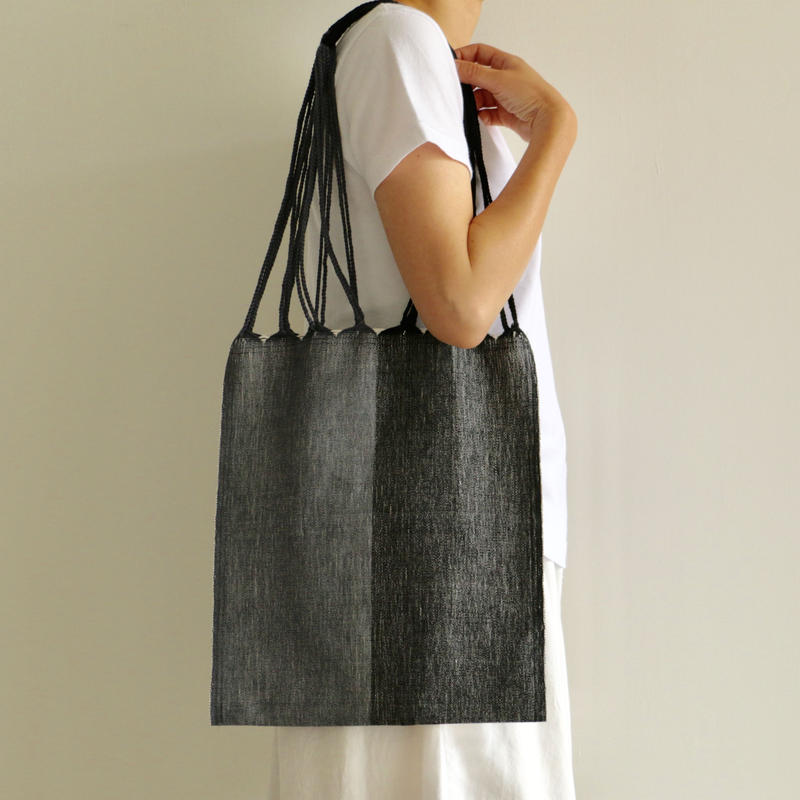 pips /HAMMOCK BAG (GRAY×BLACK)
