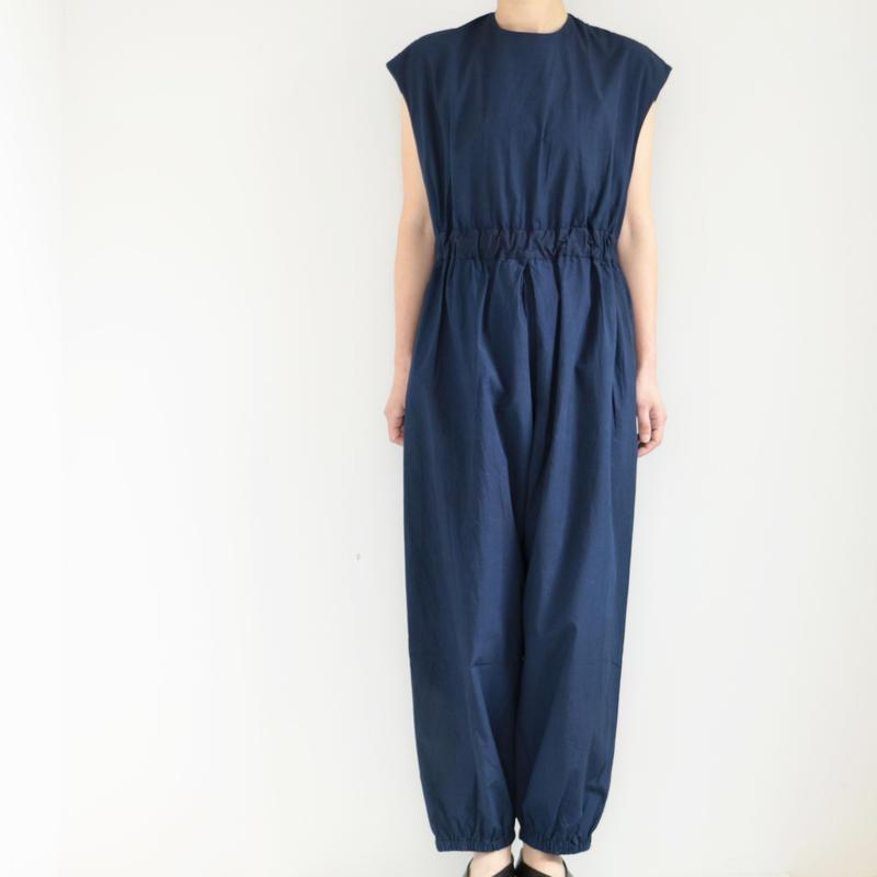 COSMIC WONDER /Organic cotton overalls (lady's /RYUKYU INDIGO)