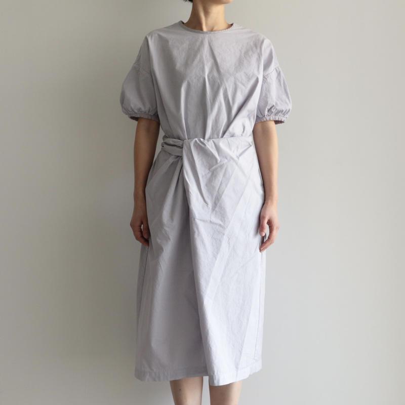 COSMIC WONDER /Organic cotton wrapped dress(lady's /L.GRY)
