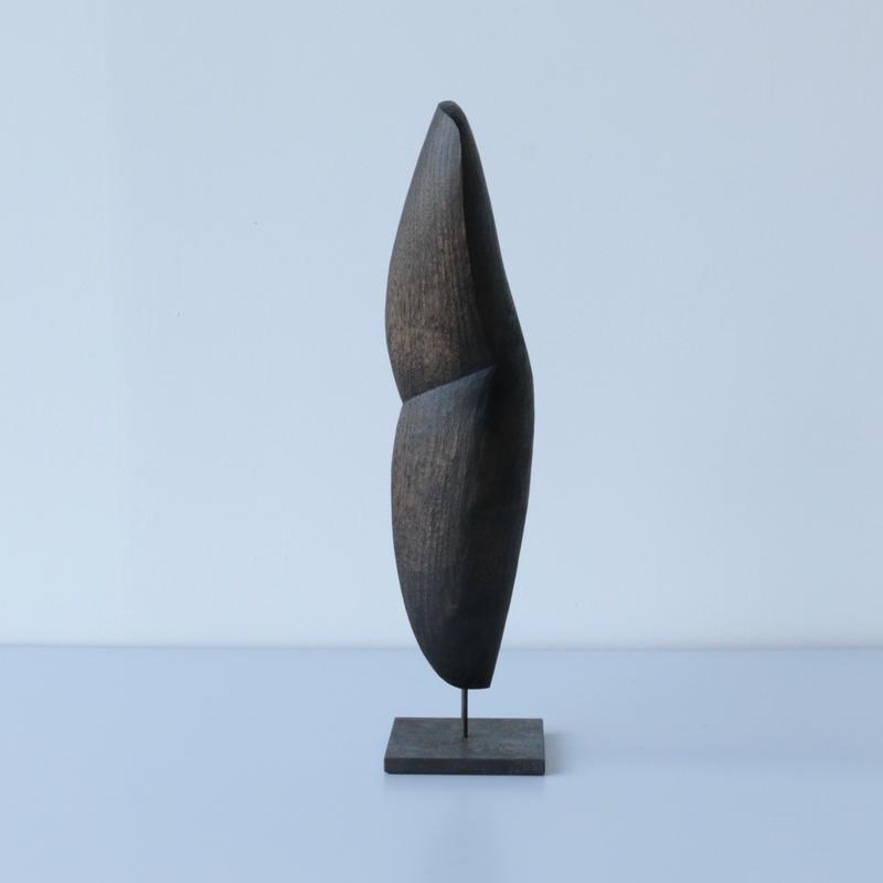 福井守/木のオブジェ(栗)