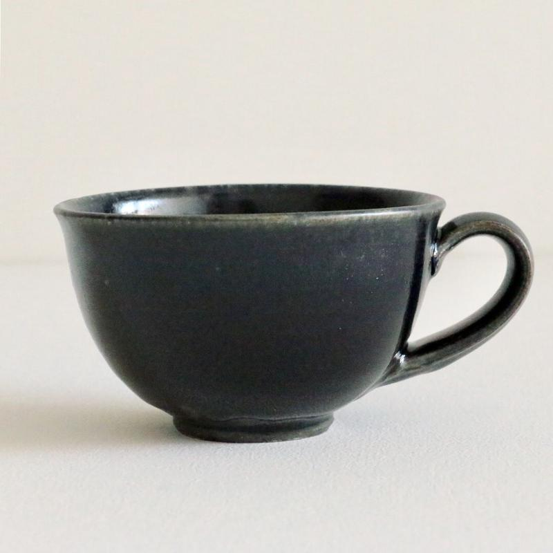 田谷直子/スープマグ(黒瑠璃)