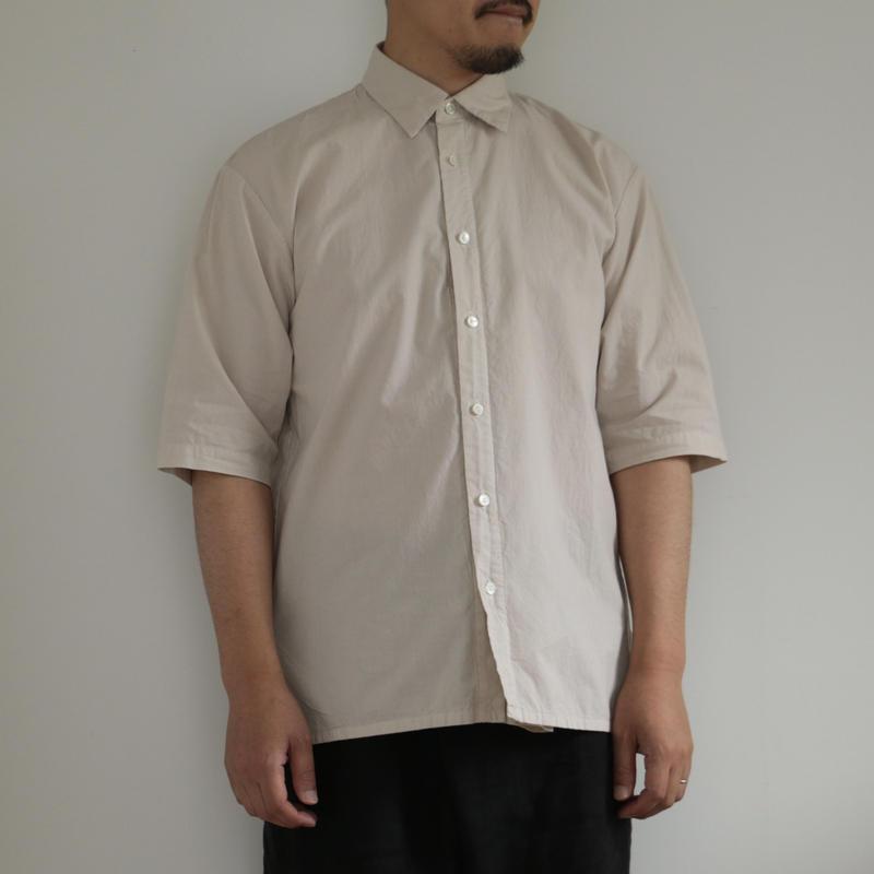 COSMIC WONDER /Organic cotton shirt with scarf(men's /GRAYGE)