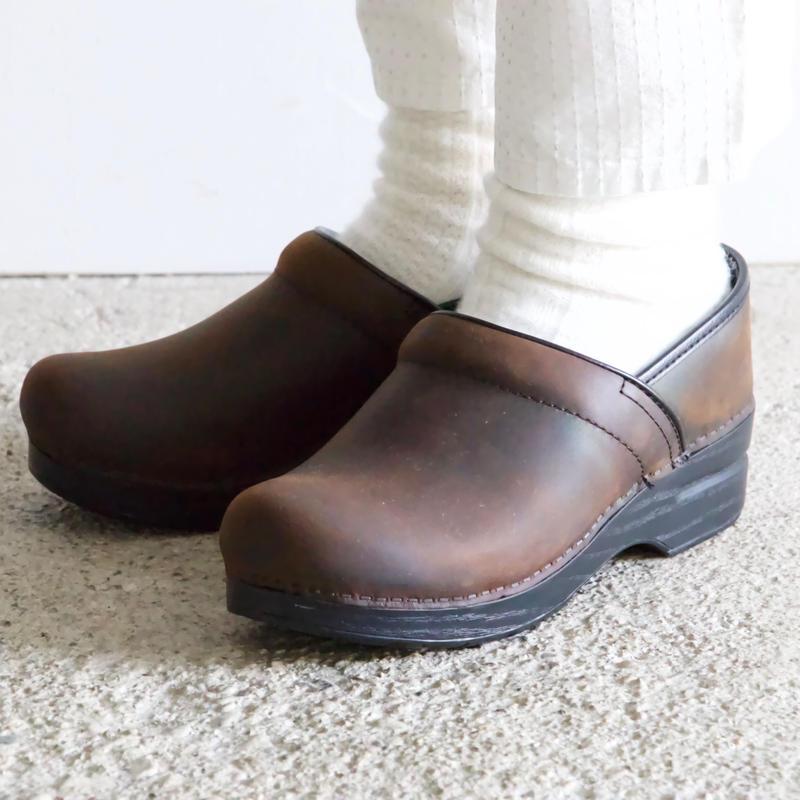 dansko/Professional (Antique brown)