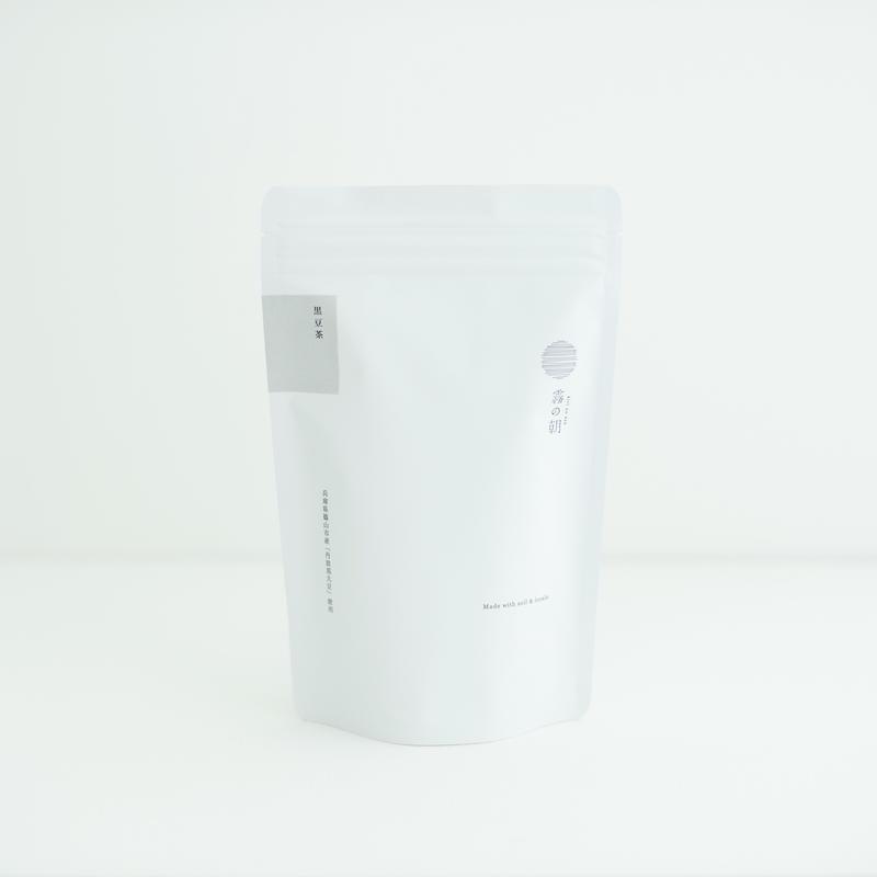 霧の朝/ 黒豆茶