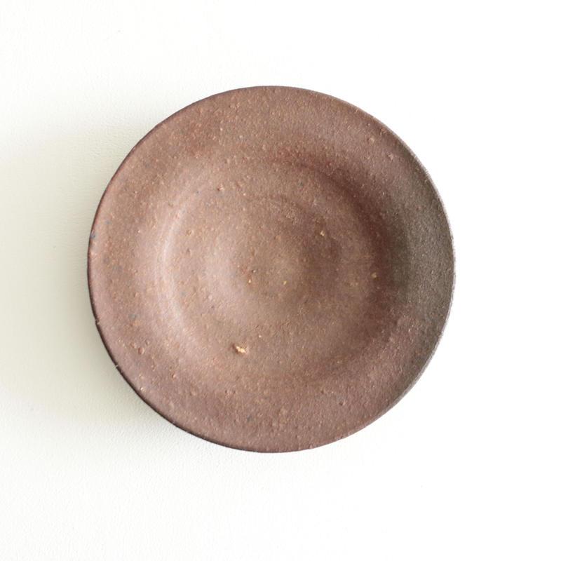 石井直人/焼〆皿 (19.5cm)