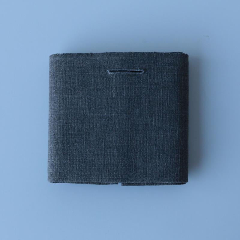 石井すみ子/手織り布巾(濃い墨)