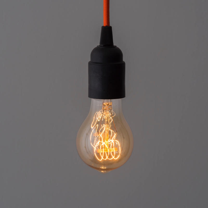 EDISON LAMP 10個セット*送料込 | A19 VERTICAL FAINT YELLOW