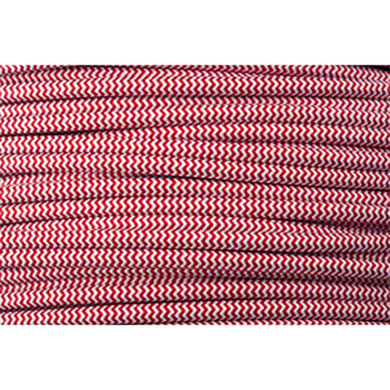 LINEME | CABLE | Red × White (Herringbone)〔Color99〕@2m
