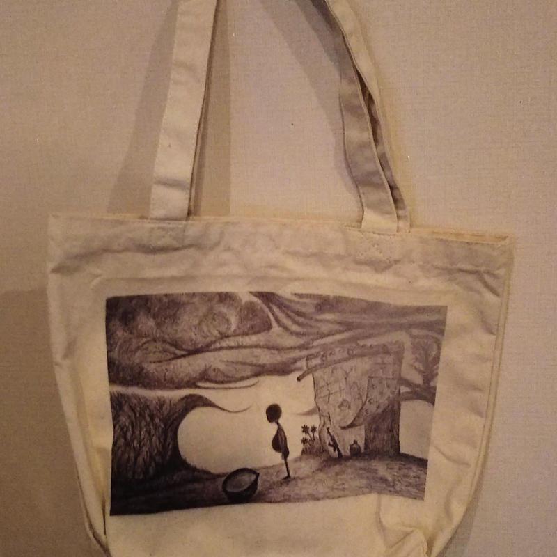【ひとり】メッセージを運ぶトートバッグ【大津司郎のアフリカ目撃】