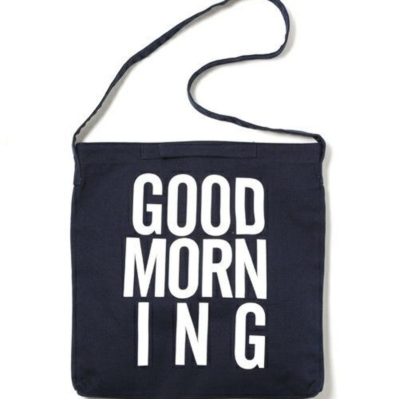 GOOD MORNING 2WAYBAG -NAVY-