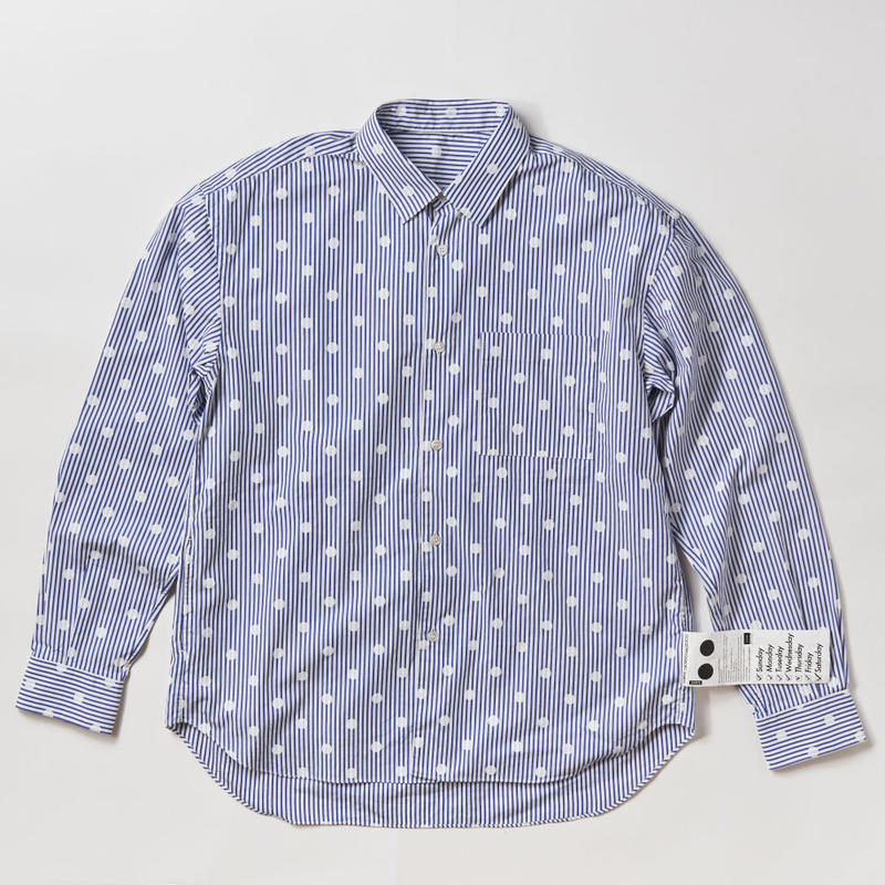 NOEL REGULAR COLLAR SHIRTS  -SODA-