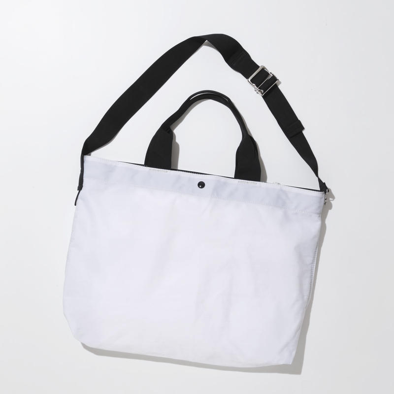 JOHN 2way Shoulder Bag -WHITE-