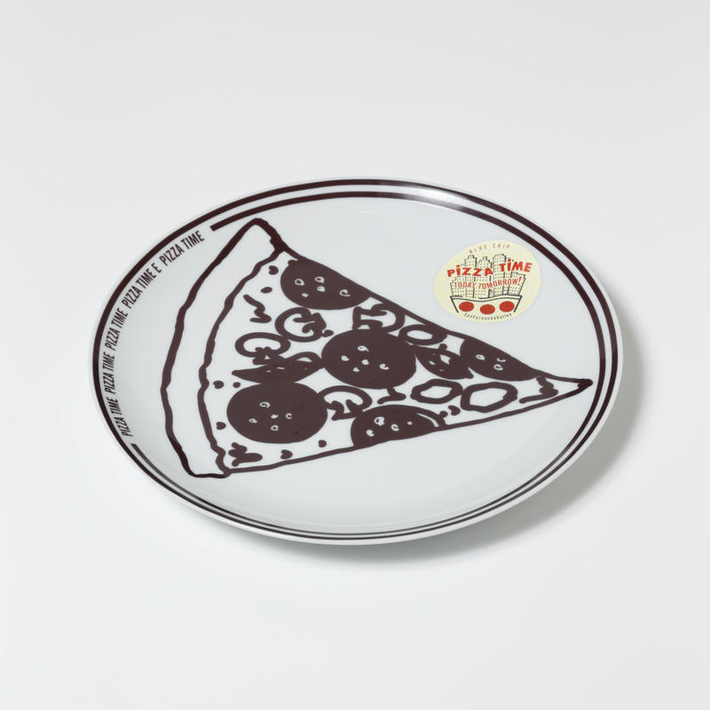 PIZZA TIME DISH PLATE