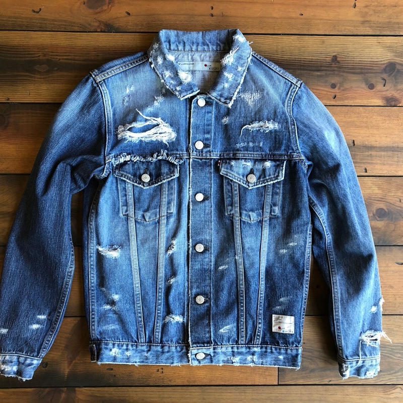 DENIM JACKET 3RD TYPE H/USED / BS-S3-JK05